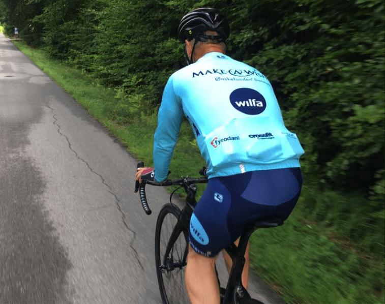 Cykelholdet Team Make-A-Wish aka Ønskerytterne kører igen i 2018